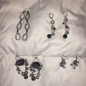 WHBM earring lot